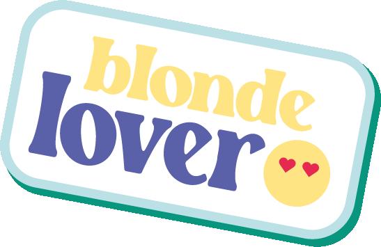 blonde lover sticker