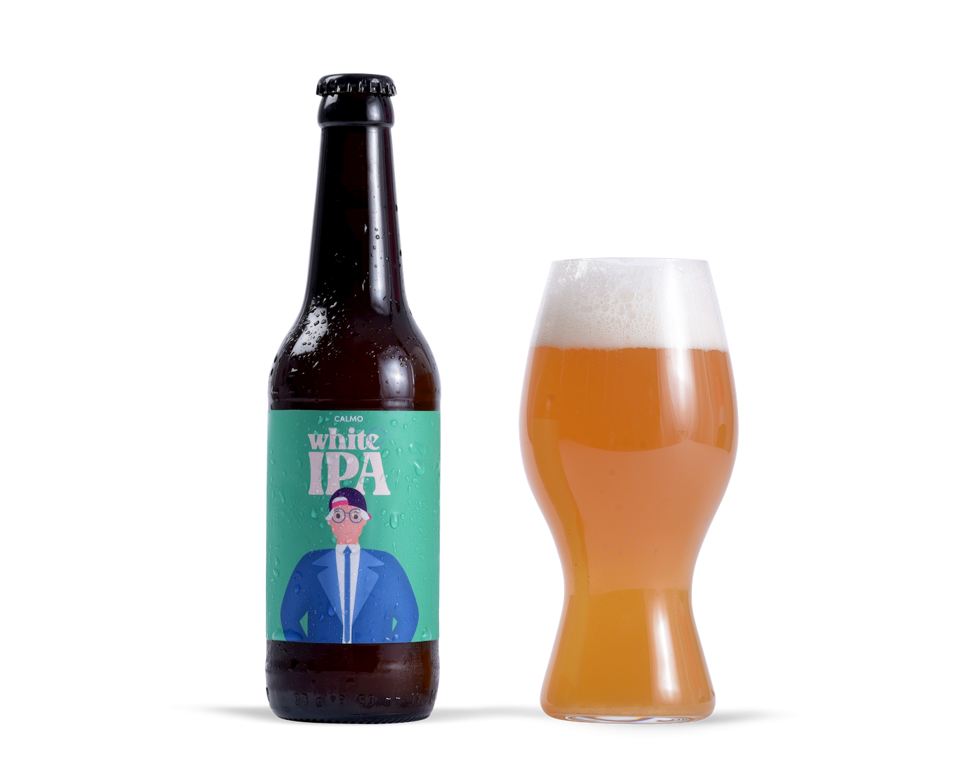 Vaso cerveza White IPA